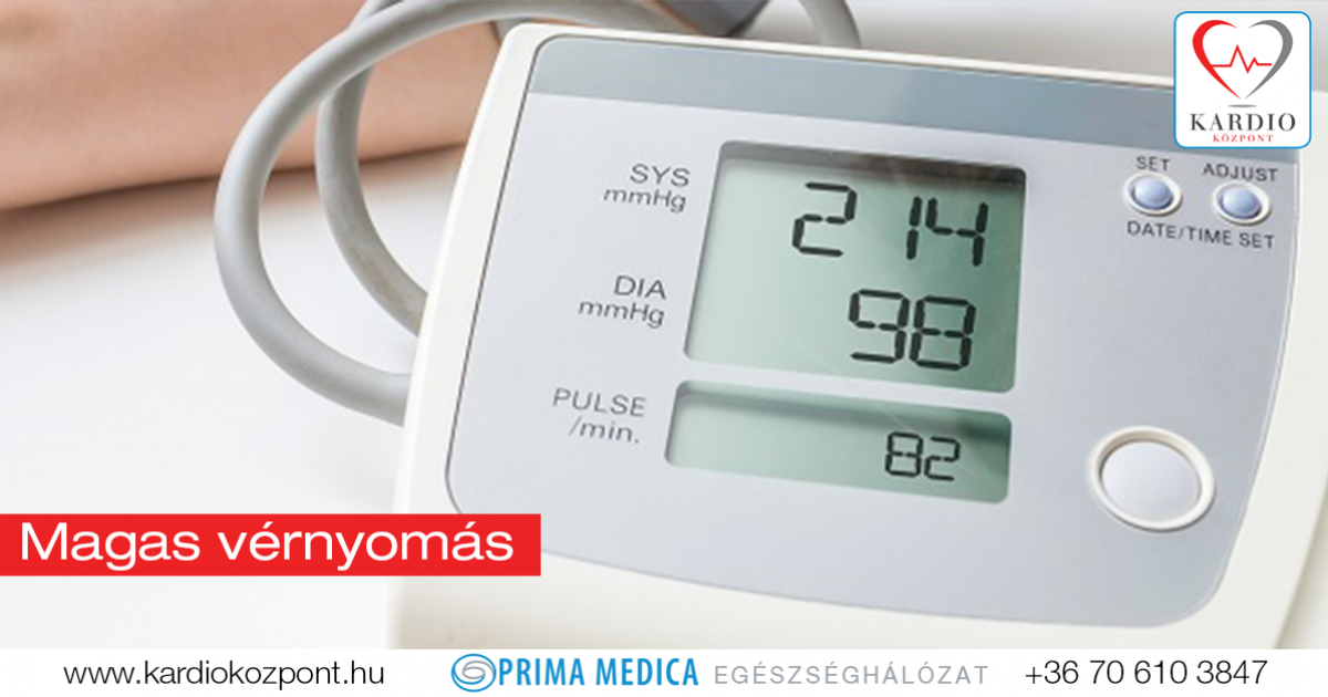 kardiológiai hipertónia aritmiás kezelés magas vérnyomás esetén
