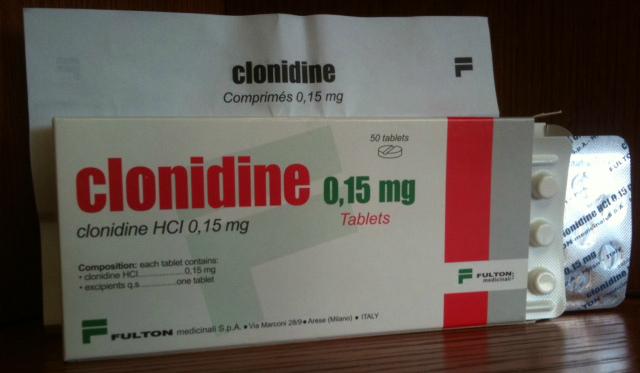 klonidin hipertónia kezelése