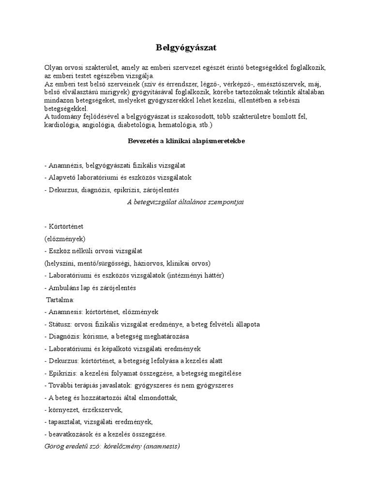 oszlopokkal járó járás és magas vérnyomás)