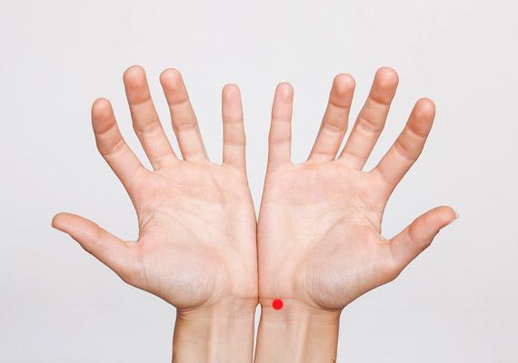 milyen pontokat kell megnyomni magas vérnyomás esetén)