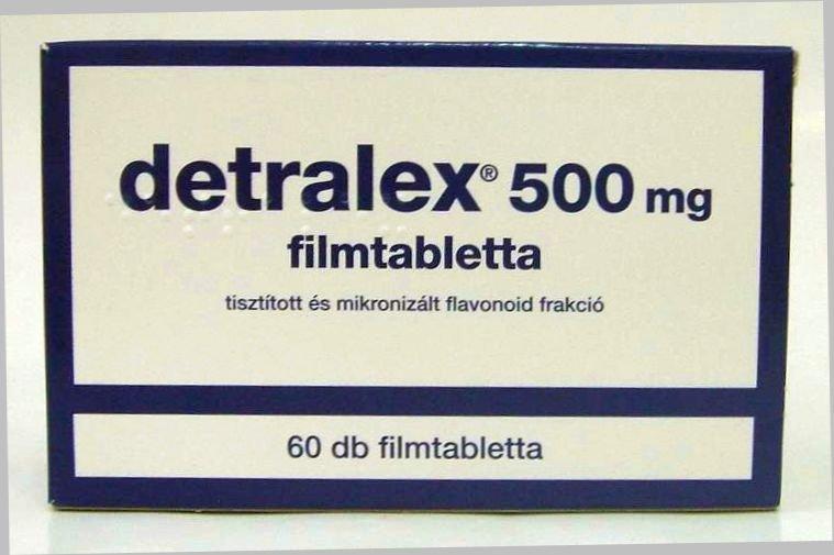 DETRALEX mg filmtabletta - Ezt kell tudnia | Aranyéherbaria-levendula.hu