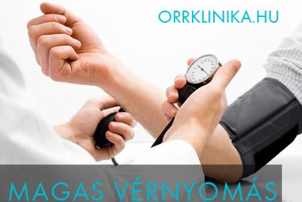 magas vérnyomás orrvérzéssel)