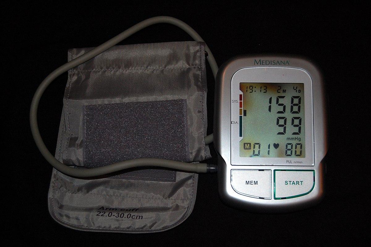 első fokú és első fokú magas vérnyomás magas vérnyomás rb