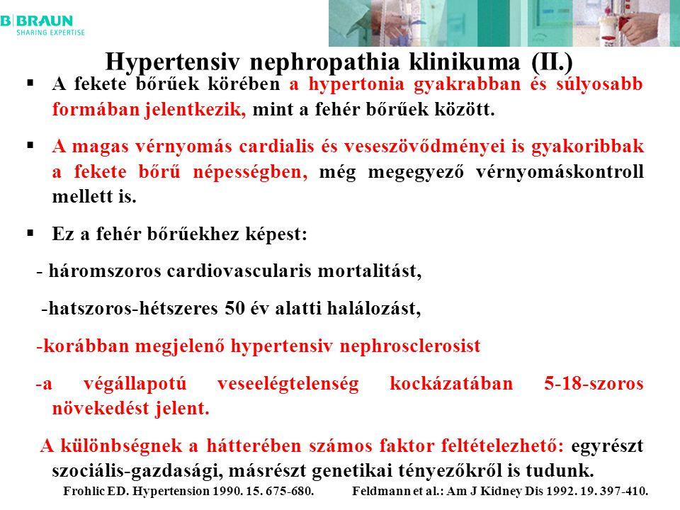 Újabb ismeretek a hypertonia okozta vesekárosodásokról | eLitMed