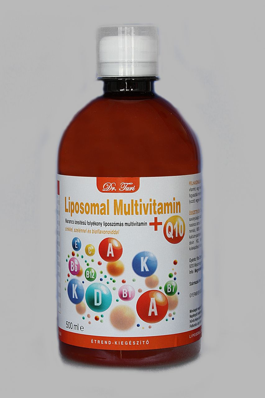 Dr. Turi Liposomal Multivitamin + Q10 (500ml)