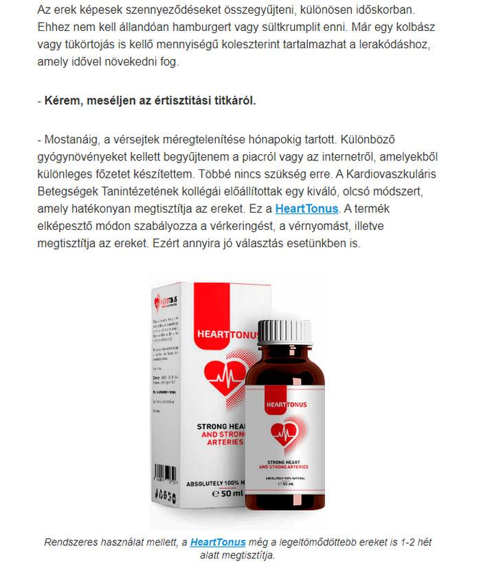 magas vérnyomás, hogyan lehet megtisztítani az ereket férfi magas vérnyomás kezelésére