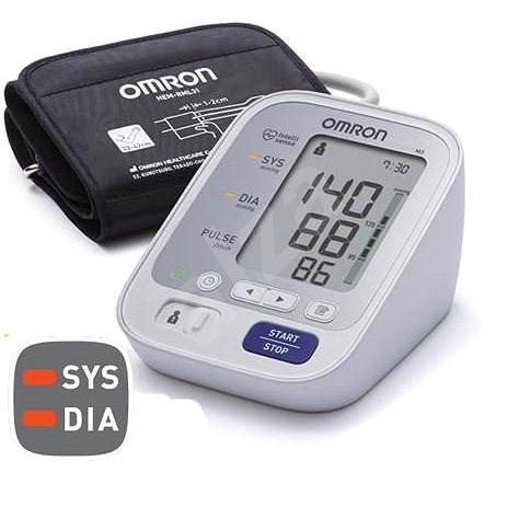 OMRON M3 magas vérnyomást mutató színes kijelzővel