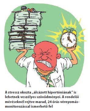 magas vérnyomás okozta nyomás)