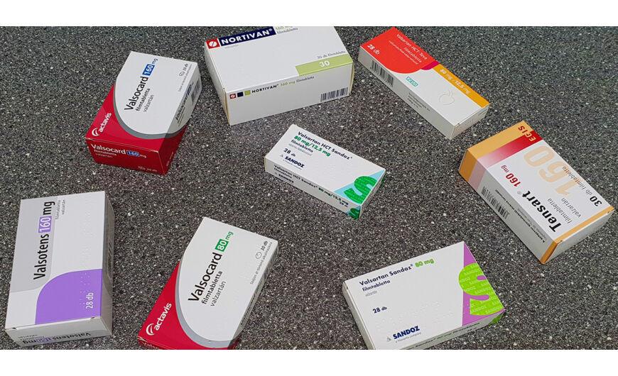 magas vérnyomás elleni gyógyszer valzartán