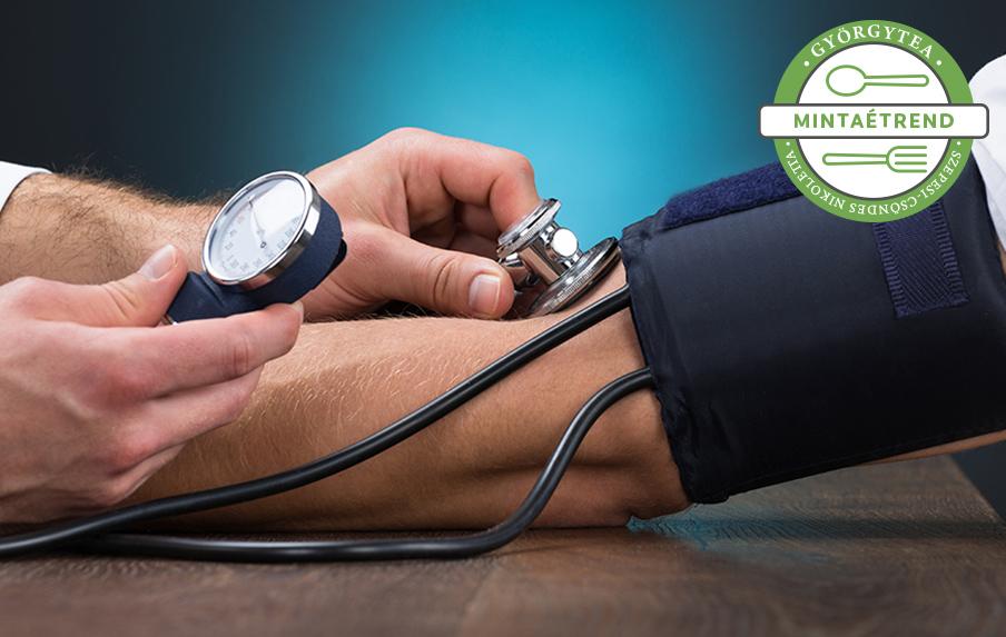 magas vérnyomás csak a jobb kezén menü hipertónia esetén egy hónapig