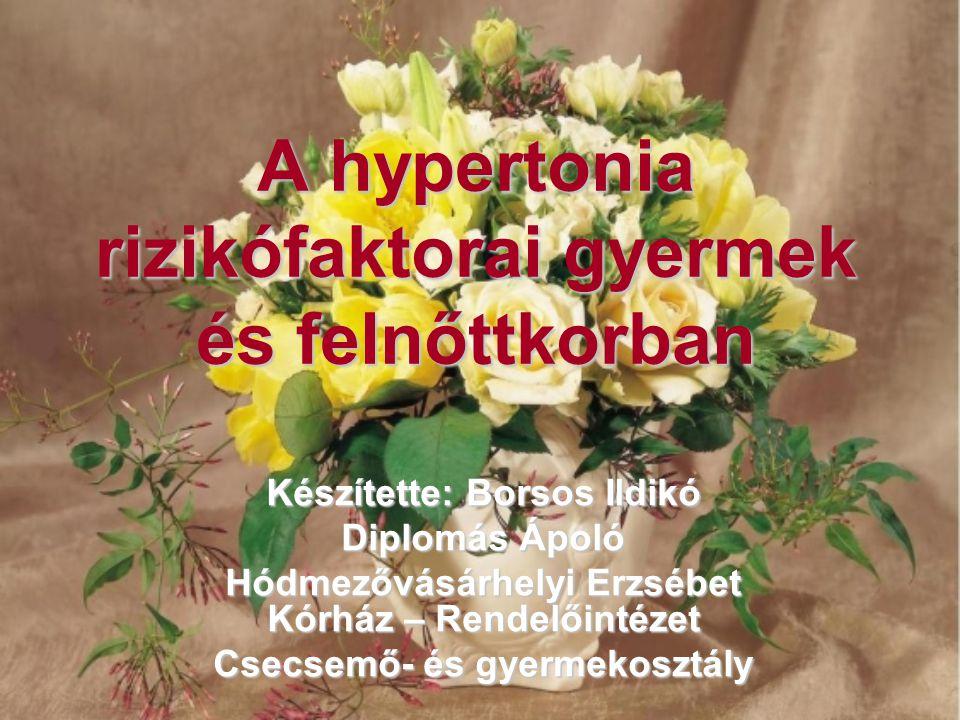 rózsafüzér magas vérnyomás esetén