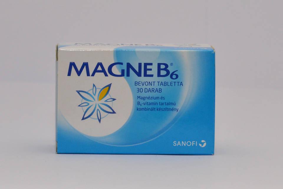 magne b6 magas vérnyomás esetén