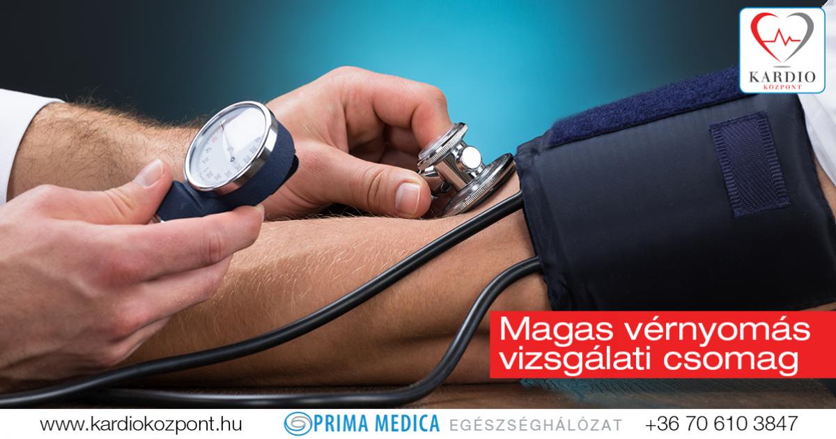 magas vérnyomás és orvosi vizsgálat)