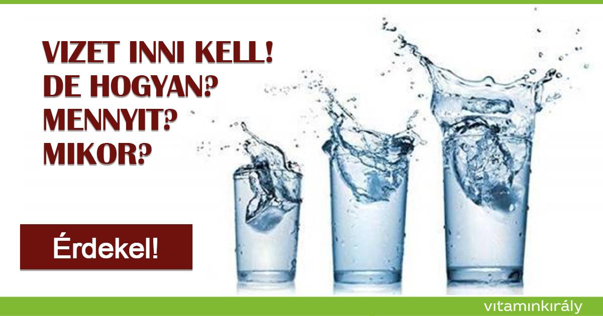 Fedezd fel az ivóvíz gyógyító erejét!