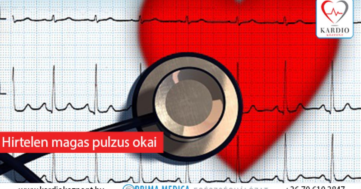ritka szívveréses magas vérnyomás)