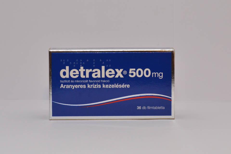 A Detralex lehetséges magas vérnyomás esetén)