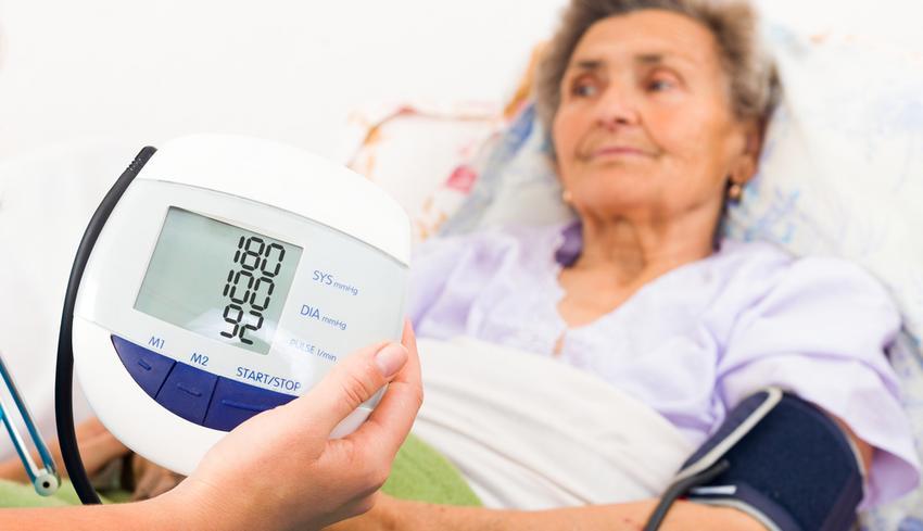 kontrollált magas vérnyomás
