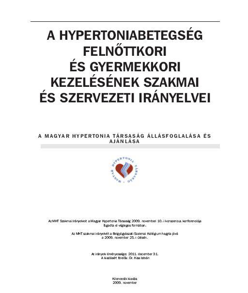 előadás a magas vérnyomás kezeléséről
