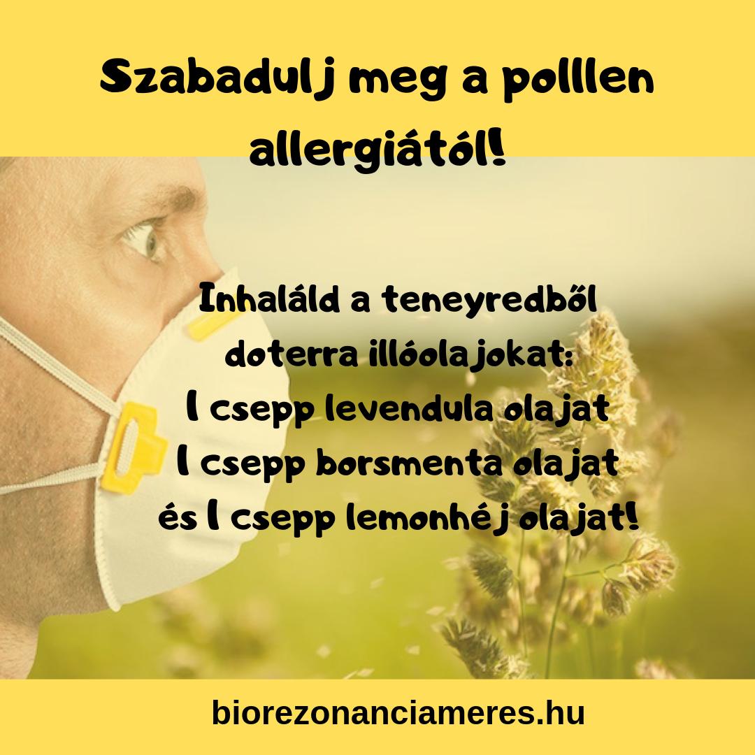 hipertónia allergiától