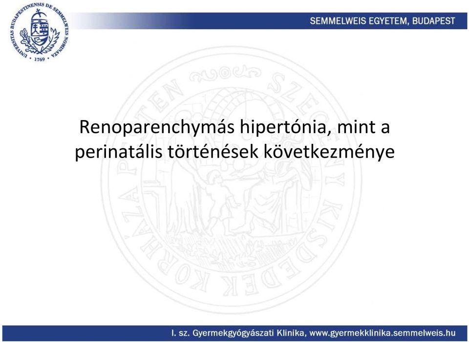 renovaszkuláris hipertónia