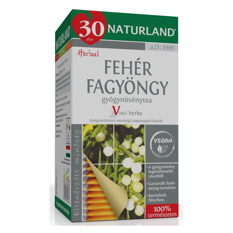 Györgytea Fehér fagyöngy (Viscum album) - Györgytea