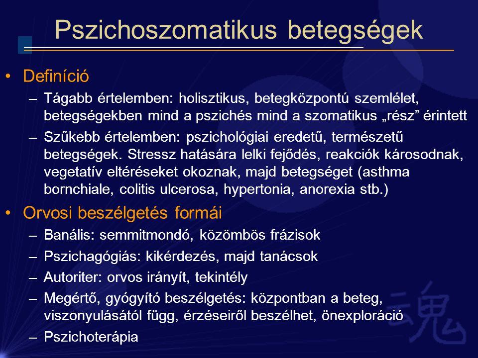 a hipertónia pszichoszomatikus okai)