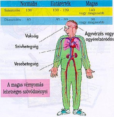 diéta szívbetegségek és magas vérnyomás esetén)