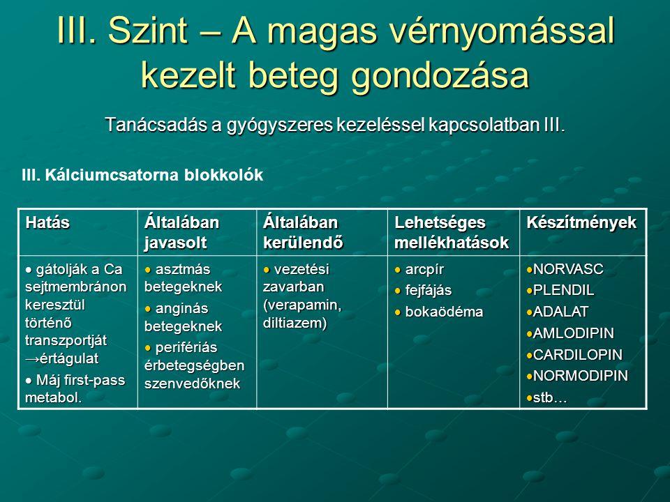 magas vérnyomás 1 stádium, 1 fokozat, 2 kockázat kezelés)