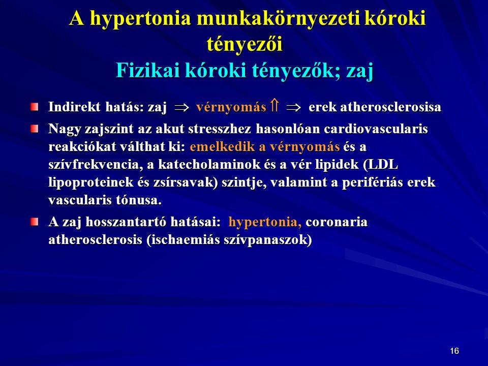 Agyi artériás hipertónia Vaszkuláris tónus hipertónia